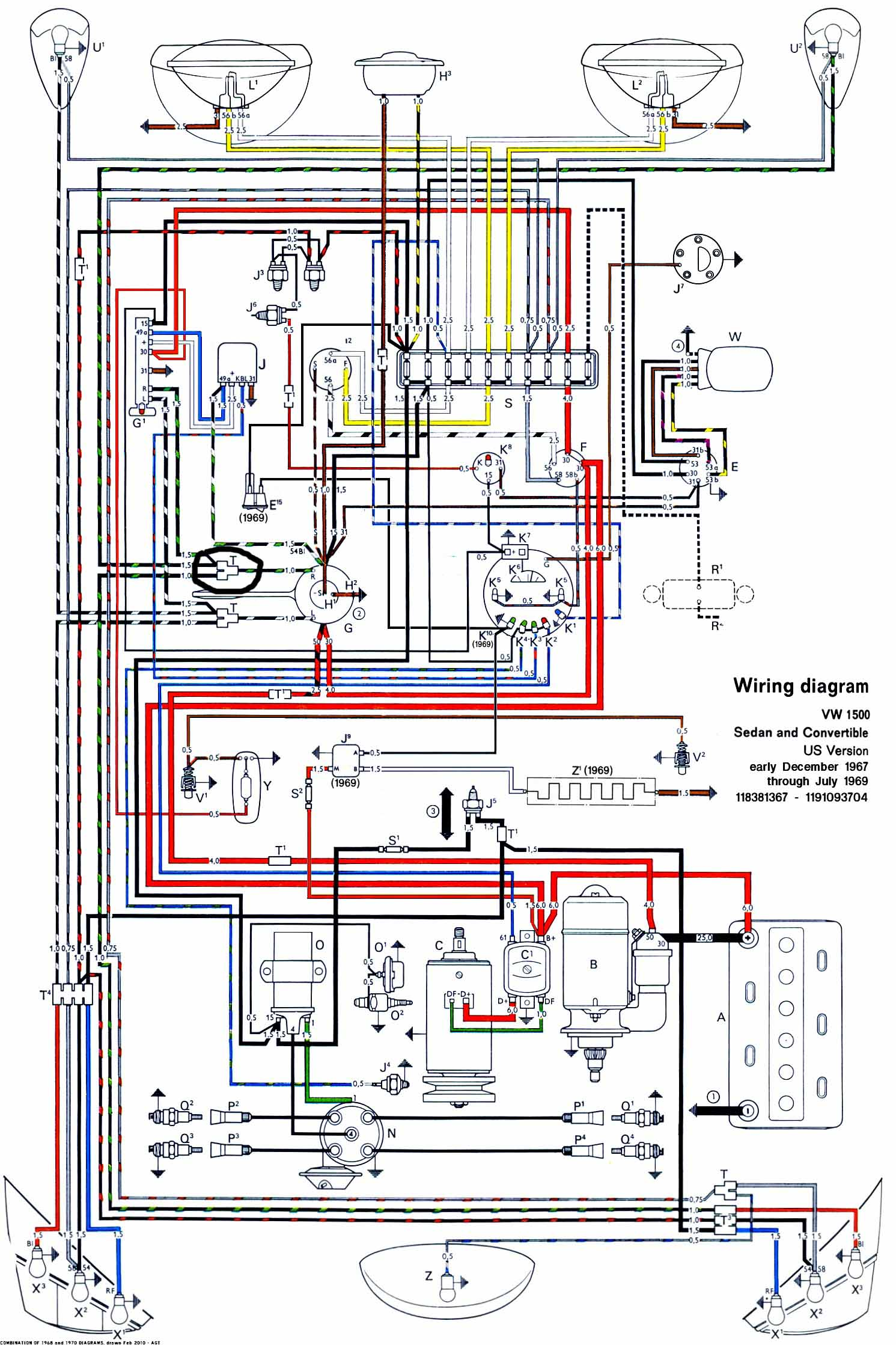 Vw Beetle Wiring Diagram 1971 Rd Diagrams 1974 Engine For The 1969 1973