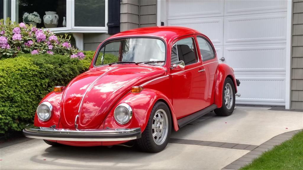 Front on 1974 super beetle s